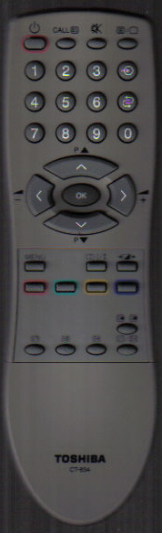Toshiba CT-834 Remote
